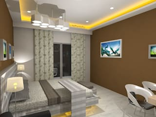 Modern Bedroom by Gurooji Designs Modern