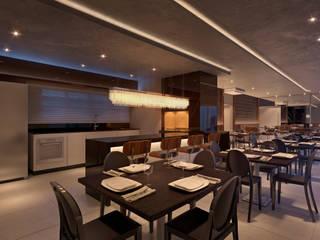 Projeto de Interiores Ed. Olímpo Salas de jantar modernas por Juliana Damasio Arquitetura Moderno