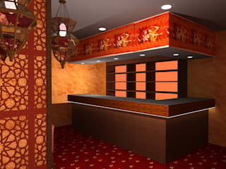 Saakhi Night Club Classic bars & clubs by Gurooji Designs Classic