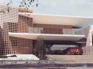 RESIDENCIA M.C Casas tropicais por Métrica Arquitetura Tropical