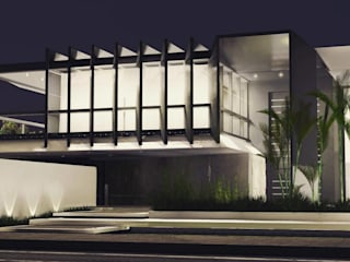 Casa D.E Casas modernas por Métrica Arquitetura Moderno