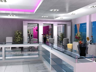 Najla Spa by Gurooji Designs Modern