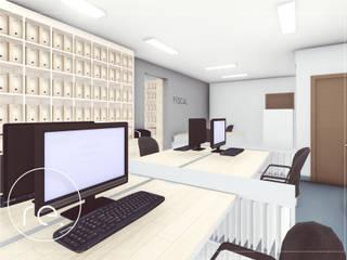 Comercial   Escritório de contabilidade Escritórios minimalistas por R.E. Projetos Minimalista