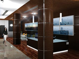 Elcome Showroom by Gurooji Designs Modern