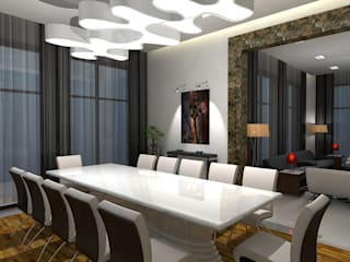 Modern Dining Room by Gurooji Designs Modern
