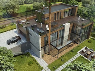 Бертани_611 кв.м: Дома в . Автор – Vesco Construction
