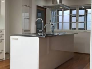 戸建て 新築キッチン: だいだ産業株式会社が手掛けたです。