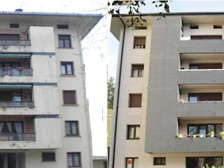 FachadasBarcelonaRehabilitacion Rumah Modern