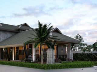 บ้านชั้นครึ่ง:   by Ultimate Architect รับออกแบบบ้าน