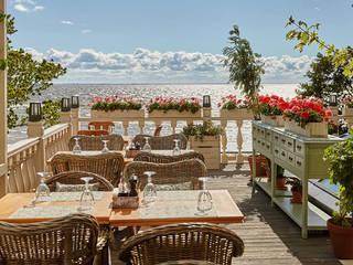 Balcones y terrazas de estilo mediterráneo de NEXXT Mediterráneo