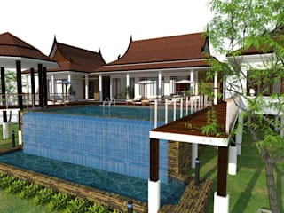 thai modern:   by FULL HOUSE Design