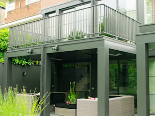Balcon, Veranda & Terrasse modernes par Hopmanhuis Moderne
