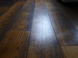 dark oak flooring:   by Style Within