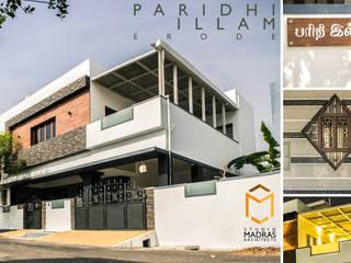 Paridhi Illam - Erode Minimalist houses by Studio Madras Architects Minimalist