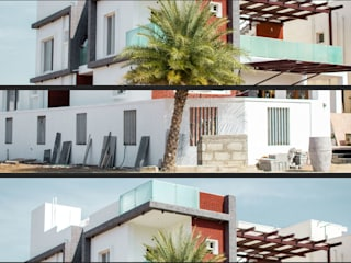 Facade:  Houses by Studio Madras Architects