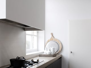 City apartment :  Keuken door J.PHINE