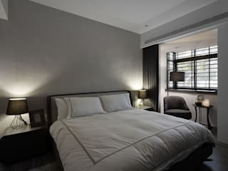 Modern Bedroom by 大集國際室內裝修設計工程有限公司 Modern