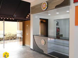 Restaurantes de estilo  por ProEscala- Arquitectos, Moderno