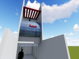 IMPACTO CONTABILIDADE: Edifícios comerciais  por DARIO LOBO ARQUITETURA,Moderno