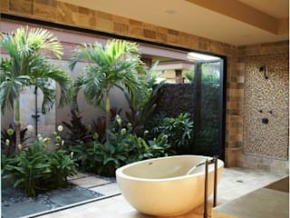 Inspire-se: Terraços  por Priscila M. Interiores e Arquitetura,Tropical