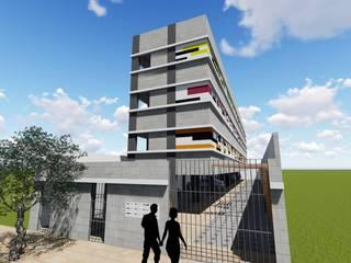 RESIDENCIAL HAB.VR: Casas  por DARIO LOBO ARQUITETURA,Moderno