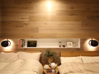 Eclectic style bedroom by SPACE ORCHESTRA(スペースオーケストラ) Eclectic