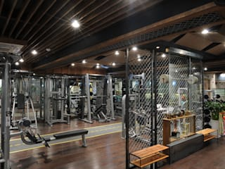 Scandinavian style gym by oldantique design 오직 모양새만 생각하는 사람들 Scandinavian