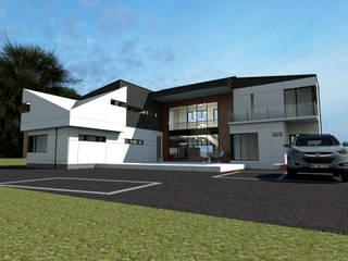 Casas de estilo  por 디자인 이업, Moderno