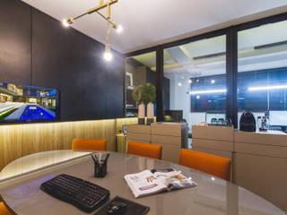 Oficinas y tiendas de estilo moderno de Melo Mesquita Arquitetura Moderno