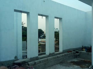 Vertical Garden in Hero Ajith House at Chennai by Vertical Gardens, Lifewall