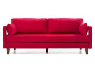 Comfort Yaşam Serisi Üçlü Yataklı Kanepe Kırmızı K105 Mobilya Pazarlama Danışmanlık San.İç ve Dış Tic.LTD.ŞTİ. Oturma OdasıKanepe & Koltuklar Ahşap Kırmızı