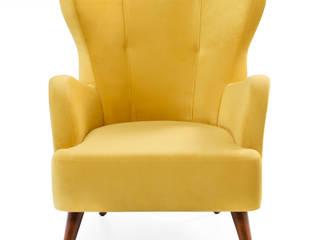 Karina Berjer Sarı K105 Mobilya Pazarlama Danışmanlık San.İç ve Dış Tic.LTD.ŞTİ. Oturma OdasıKanepe & Koltuklar Ahşap Sarı