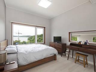 Modern style bedroom by (주)그린홈예진 Modern