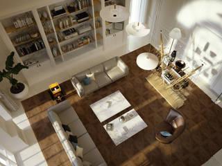Eklektyczne domy od studioviro Eklektyczny