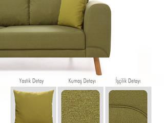 Lucky Yataklı Köşe Koltuk Yeşi K105 Mobilya Pazarlama Danışmanlık San.İç ve Dış Tic.LTD.ŞTİ. Oturma OdasıKanepe & Koltuklar Ahşap Yeşil