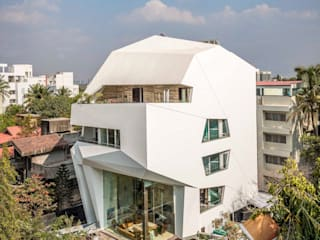 THE ORIGAMI HOUSE :  Houses by SANJAY PURI ARCHITECTS,