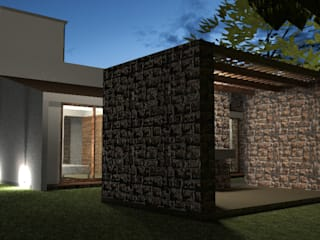 Hacienda de Santa Catarina: Cavas de estilo rústico por Grupo de Arquitectura y Urbanismo