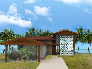 Tropical style houses by Mutabile Tropical