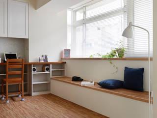 relaxed life 弘悅國際室內裝修有限公司 客廳 木頭 Wood effect