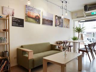 easy life 弘悅國際室內裝修有限公司 餐廳 木頭 Green