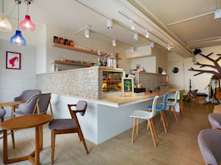 easy life 弘悅國際室內裝修有限公司 餐廳 木頭 Wood effect