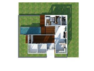 ชั้นเดียว เรียบง่าย modern: ทันสมัย  โดย FULL HOUSE Design, โมเดิร์น