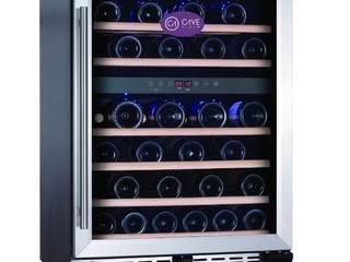 Vinoteca Cave Vinum para 46 botellas CV-46-2T Vinotecas.com Bodegas Hierro/Acero Metálico/Plateado
