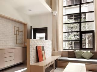「專訪」用專業形塑家的內在精神 - 達圓室內設計 現代房屋設計點子、靈感 & 圖片 根據 達圓設計有限公司 現代風