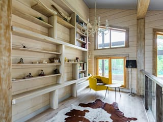 Salas de estar modernas por GOOD WOOD Moderno