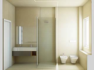 Baños de estilo moderno de SOA Spazio Oltre l'Architettura Moderno