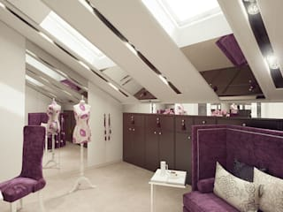 Eclectic style dressing rooms by MILLION ROOMS Eclectic