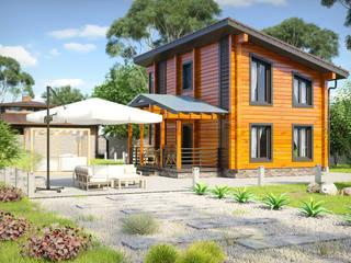 Растущий дом Neapol Дома в скандинавском стиле от Amber Haus Скандинавский