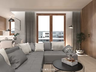 Living room by SIMPLIKA