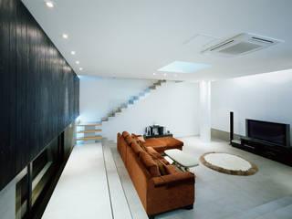 Modern living room by 건축사사무소 힘 Modern